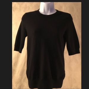Banana Republic-Black knit dress sweater
